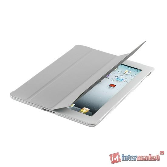 Чехол для планшета, Cooler Master, Wake Up Folio, (C-IP3F-SCWU-AW), iPad4/iPad3/iPad2, Серый