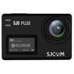 """Экшн-камера, SJCAM SJ8 PLUS, 4K/30fps, Sony IMX117, 12 МП, 170°, Wifi 10 м/2,4 5 Hz, Gyro Anti-shake, Slow motion, Чипсет NTK 96683, 1200mAh, 2.33"""" сенсорный дисплей, Чёрный"""