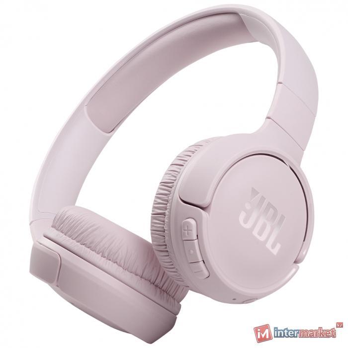 Беспроводные наушники JBL Tune 510BT, розовый JBLT510BTROSEU