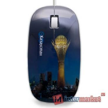 Мышь USB Delux DLM-111OU Байтерек