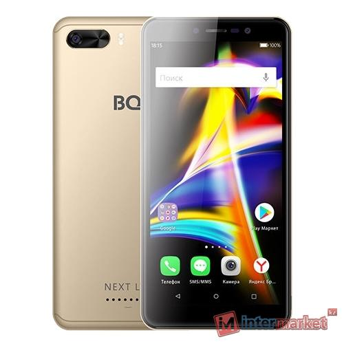 Смартфон BQ BQ-5508L Next LTE, Gold