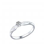 Кольцо Sokolov 89010017-16, серебро